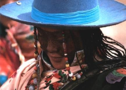 Nomad woman