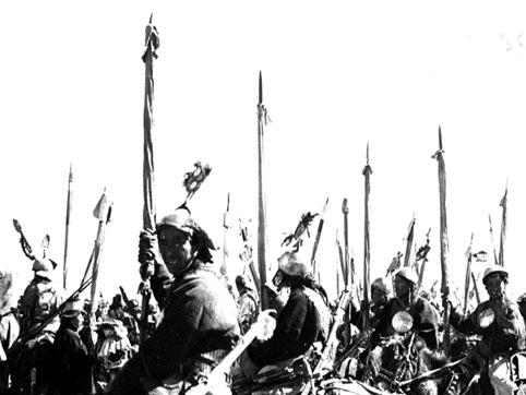 Tibetan warriors